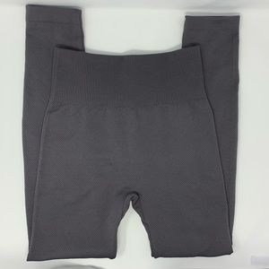 Charlie Paige Fleece Lined Leggings Slate Grey S/M
